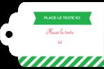 Ornements de Noël Étiquettes imprimables - gabarit prédéfini. <br/>Utilisez notre logiciel Avery Design & Print Online pour personnaliser facilement la conception.