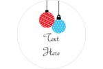 Make custom projects more festive with pre-designed Christmas Ornaments templates.