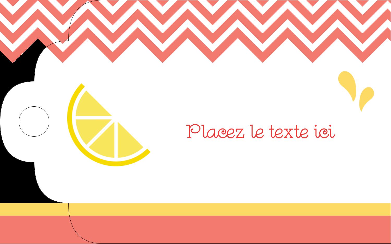 """2"""" x 1⅛"""" Étiquettes imprimables - Fruits roses"""