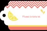 Fruits roses Étiquettes imprimables - gabarit prédéfini. <br/>Utilisez notre logiciel Avery Design & Print Online pour personnaliser facilement la conception.