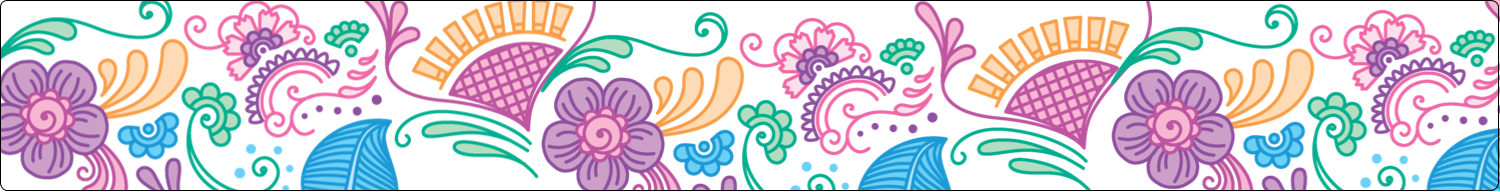 Kick off your summer party season with these gorgeous Pretty Petals Cool templates.