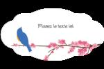 Cerisiers en fleur Étiquette Industrielles - gabarit prédéfini. <br/>Utilisez notre logiciel Avery Design & Print Online pour personnaliser facilement la conception.