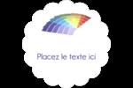 Plage de couleur Étiquettes D'Adresse - gabarit prédéfini. <br/>Utilisez notre logiciel Avery Design & Print Online pour personnaliser facilement la conception.