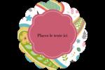 Cachemire Étiquettes festonnées - gabarit prédéfini. <br/>Utilisez notre logiciel Avery Design & Print Online pour personnaliser facilement la conception.