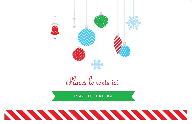 """8½"""" x 11"""" Cartes Et Articles D'Artisanat Imprimables - Ornements de Noël"""
