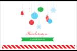 Ornements de Noël Cartes Et Articles D'Artisanat Imprimables - gabarit prédéfini. <br/>Utilisez notre logiciel Avery Design & Print Online pour personnaliser facilement la conception.