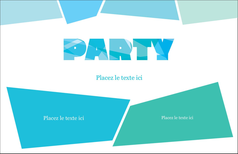 """8½"""" x 11"""" Cartes Et Articles D'Artisanat Imprimables - Palette de couleurs froides"""