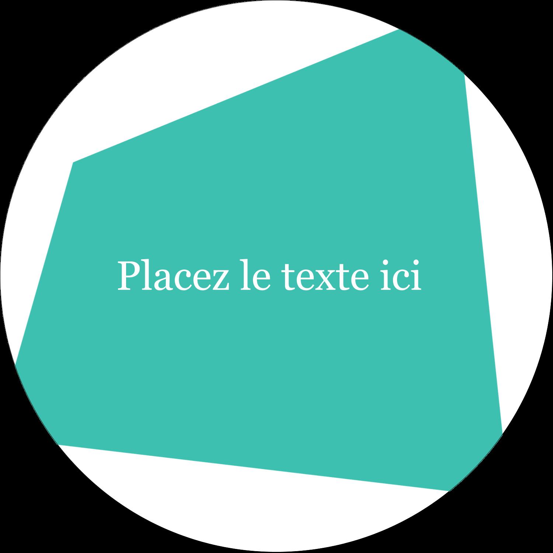 """2¼"""" x ¾"""" Étiquettes Voyantes - Palette de couleurs froides"""