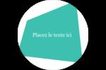 Palette de couleurs froides Étiquettes Voyantes - gabarit prédéfini. <br/>Utilisez notre logiciel Avery Design & Print Online pour personnaliser facilement la conception.