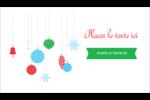 Ornements de Noël Cartes Pour Le Bureau - gabarit prédéfini. <br/>Utilisez notre logiciel Avery Design & Print Online pour personnaliser facilement la conception.