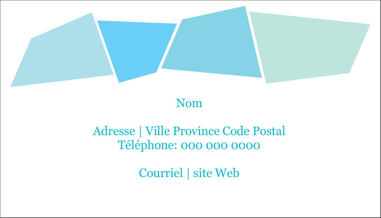 """3"""" x 5"""" Cartes Pour Le Bureau - Palette de couleurs froides"""