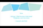 Palette de couleurs froides Cartes Pour Le Bureau - gabarit prédéfini. <br/>Utilisez notre logiciel Avery Design & Print Online pour personnaliser facilement la conception.