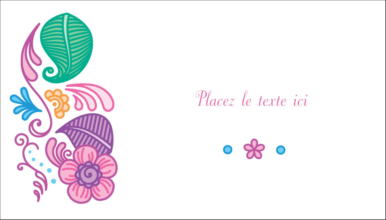 Jolis pétales frais Cartes Pour Le Bureau - gabarit prédéfini. <br/>Utilisez notre logiciel Avery Design & Print Online pour personnaliser facilement la conception.