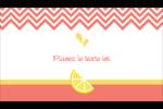 Fruits roses Carte d'affaire - gabarit prédéfini. <br/>Utilisez notre logiciel Avery Design & Print Online pour personnaliser facilement la conception.