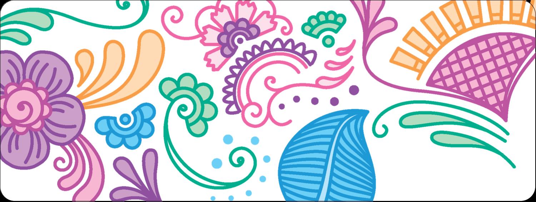 Jolis pétales frais Étiquettes D'Adresse - gabarit prédéfini. <br/>Utilisez notre logiciel Avery Design & Print Online pour personnaliser facilement la conception.