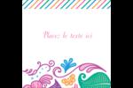 Jolis pétales frais Étiquettes carrées - gabarit prédéfini. <br/>Utilisez notre logiciel Avery Design & Print Online pour personnaliser facilement la conception.