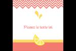 Fruits roses Étiquettes carrées - gabarit prédéfini. <br/>Utilisez notre logiciel Avery Design & Print Online pour personnaliser facilement la conception.
