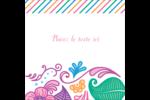 Jolis pétales frais Étiquettes enveloppantes - gabarit prédéfini. <br/>Utilisez notre logiciel Avery Design & Print Online pour personnaliser facilement la conception.
