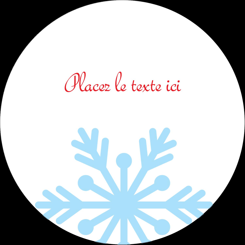 """3-7/16"""" x 15/16"""" Étiquettes de classement - Ornements de Noël"""