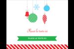 Ornements de Noël Étiquettes rondes gaufrées - gabarit prédéfini. <br/>Utilisez notre logiciel Avery Design & Print Online pour personnaliser facilement la conception.
