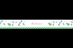 Ornements de Noël Étiquettes ovales - gabarit prédéfini. <br/>Utilisez notre logiciel Avery Design & Print Online pour personnaliser facilement la conception.