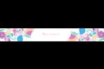 Jolis pétales frais Étiquettes ovales - gabarit prédéfini. <br/>Utilisez notre logiciel Avery Design & Print Online pour personnaliser facilement la conception.