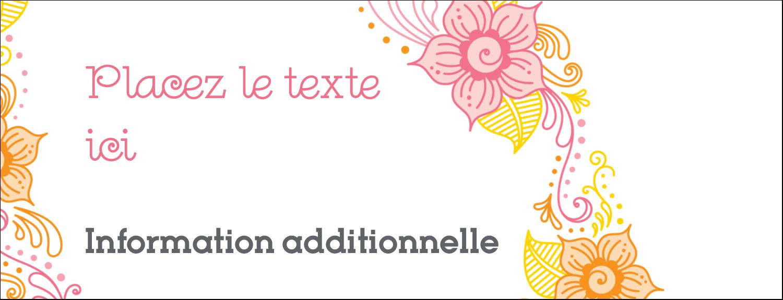 Jolis pétales chaleureux Affichette - gabarit prédéfini. <br/>Utilisez notre logiciel Avery Design & Print Online pour personnaliser facilement la conception.