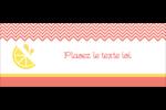 Fruits roses Affichette - gabarit prédéfini. <br/>Utilisez notre logiciel Avery Design & Print Online pour personnaliser facilement la conception.