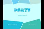 Palette de couleurs froides Carte Postale - gabarit prédéfini. <br/>Utilisez notre logiciel Avery Design & Print Online pour personnaliser facilement la conception.