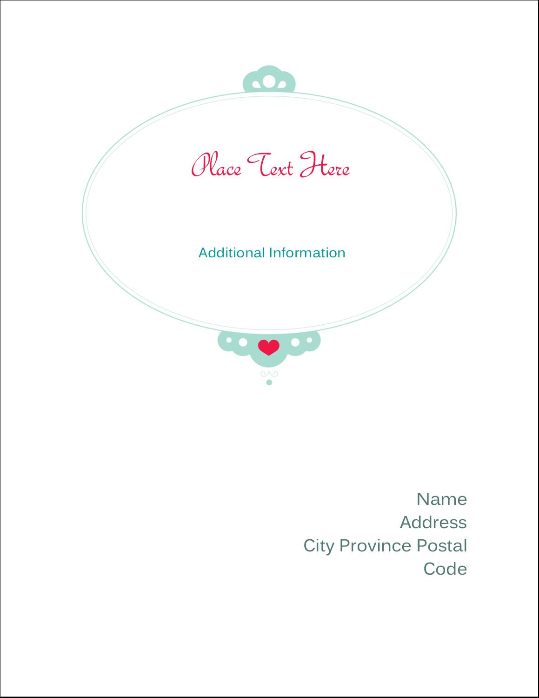 "4¼"" x 5½"" Postcard - Princess Heart"