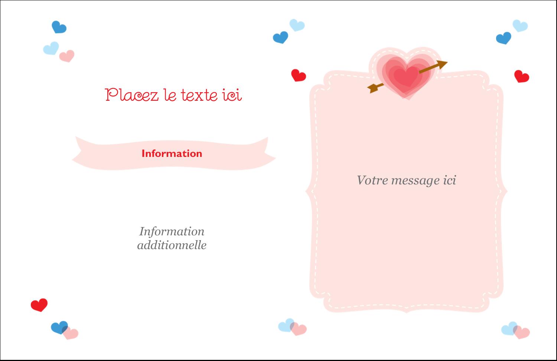 """8½"""" x 11"""" Cartes Et Articles D'Artisanat Imprimables - Saint-Valentin"""