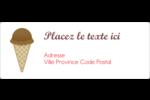 Crème glacée sucrée Étiquettes d'adresse - gabarit prédéfini. <br/>Utilisez notre logiciel Avery Design & Print Online pour personnaliser facilement la conception.