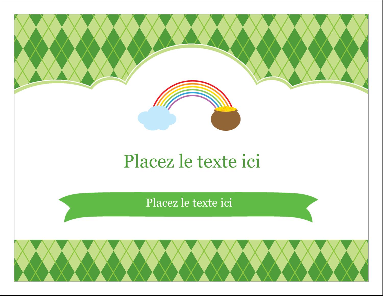 """8½"""" x 11"""" Cartes Et Articles D'Artisanat Imprimables - Saint-Patrick"""