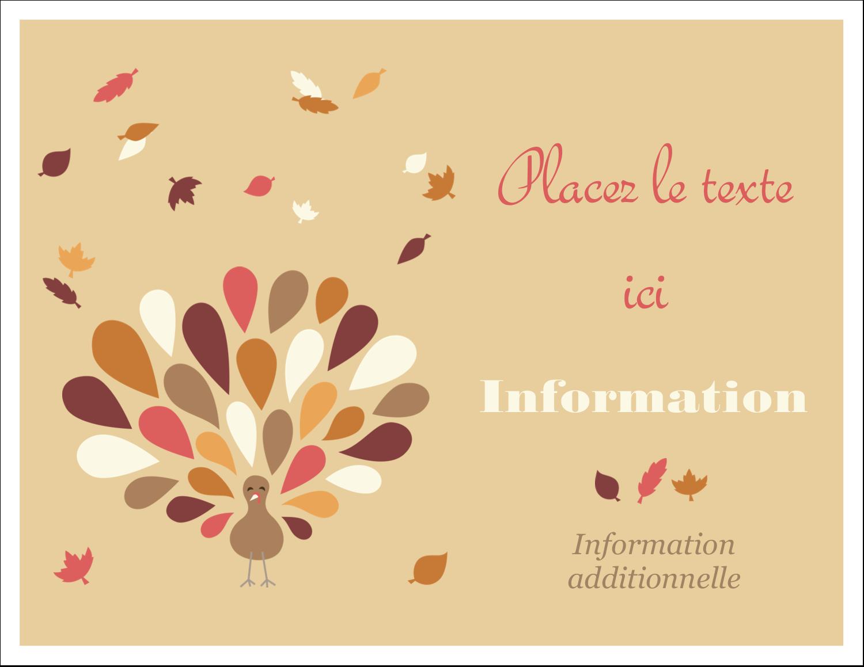 """8½"""" x 11"""" Cartes Et Articles D'Artisanat Imprimables - Plumes d'Action de grâces"""