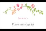Floraison du printemps Cartes Pour Le Bureau - gabarit prédéfini. <br/>Utilisez notre logiciel Avery Design & Print Online pour personnaliser facilement la conception.