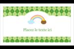 Saint-Patrick Cartes Pour Le Bureau - gabarit prédéfini. <br/>Utilisez notre logiciel Avery Design & Print Online pour personnaliser facilement la conception.