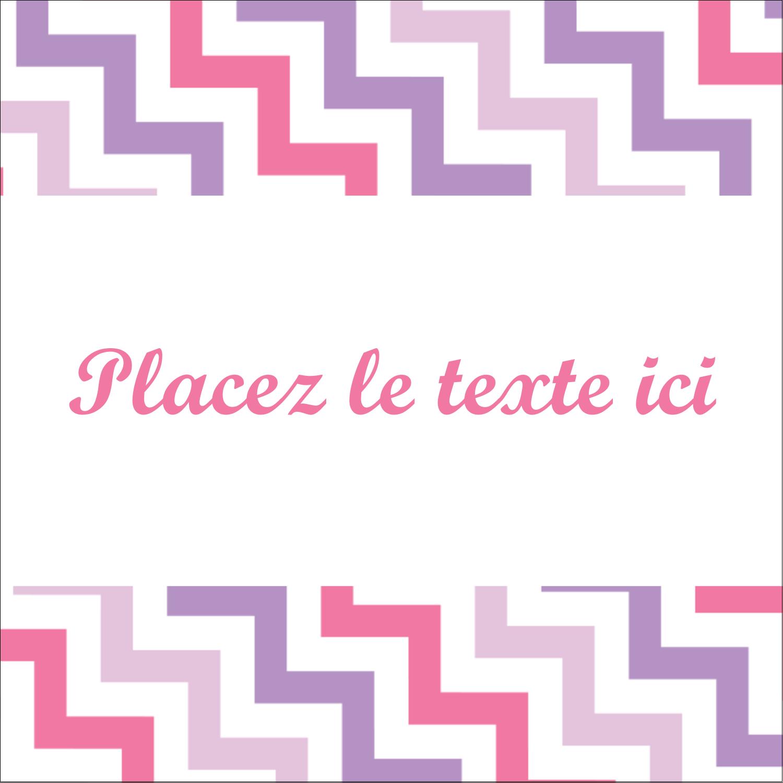 """2"""" x 2"""" Étiquettes carrées - Pompons de fête"""