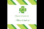 Saint-Patrick Étiquettes enveloppantes - gabarit prédéfini. <br/>Utilisez notre logiciel Avery Design & Print Online pour personnaliser facilement la conception.