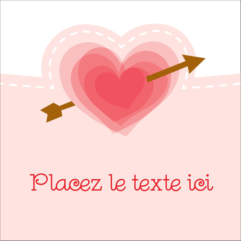 """9¾"""" x 1¼"""" Étiquettes enveloppantes - Saint-Valentin"""