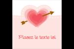 Saint-Valentin Étiquettes enveloppantes - gabarit prédéfini. <br/>Utilisez notre logiciel Avery Design & Print Online pour personnaliser facilement la conception.