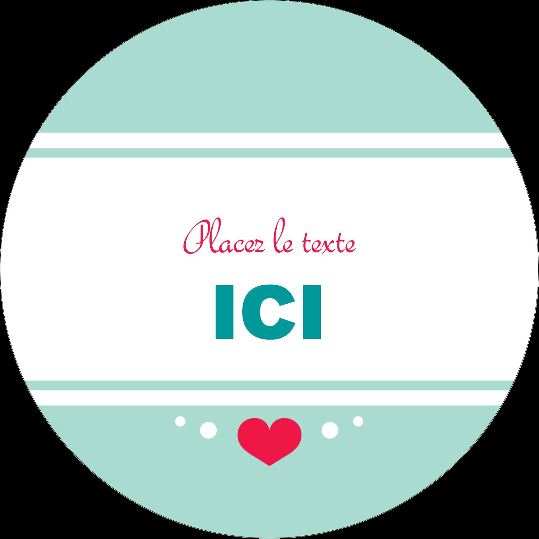 """3-7/16"""" x 15/16"""" Étiquettes de classement - Cœur de princesse"""