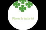 Saint-Patrick Étiquettes de classement - gabarit prédéfini. <br/>Utilisez notre logiciel Avery Design & Print Online pour personnaliser facilement la conception.