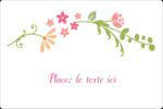 Floraison du printemps Étiquettes rectangulaires - gabarit prédéfini. <br/>Utilisez notre logiciel Avery Design & Print Online pour personnaliser facilement la conception.