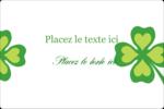 Saint-Patrick Étiquettes rectangulaires - gabarit prédéfini. <br/>Utilisez notre logiciel Avery Design & Print Online pour personnaliser facilement la conception.