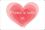 Saint-Valentin Étiquettes rectangulaires - gabarit prédéfini. <br/>Utilisez notre logiciel Avery Design & Print Online pour personnaliser facilement la conception.