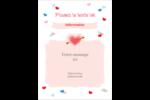 Saint-Valentin Étiquettes rondes - gabarit prédéfini. <br/>Utilisez notre logiciel Avery Design & Print Online pour personnaliser facilement la conception.