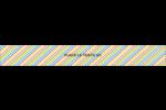 Nouvel An Étiquettes enveloppantes - gabarit prédéfini. <br/>Utilisez notre logiciel Avery Design & Print Online pour personnaliser facilement la conception.
