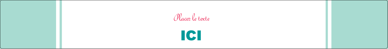 """1½"""" x 2½"""" Étiquettes ovales - Cœur de princesse"""