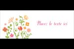 Floraison du printemps Affichette - gabarit prédéfini. <br/>Utilisez notre logiciel Avery Design & Print Online pour personnaliser facilement la conception.