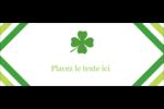 Saint-Patrick Affichette - gabarit prédéfini. <br/>Utilisez notre logiciel Avery Design & Print Online pour personnaliser facilement la conception.